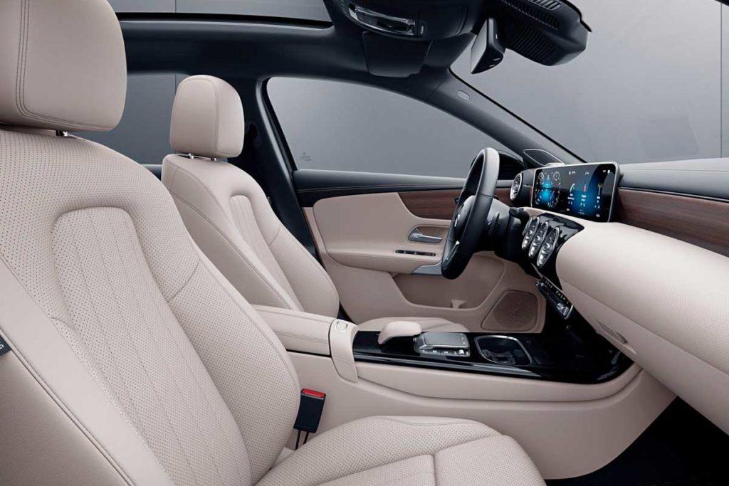 Interior del Mercedes Clase A