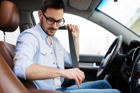 Cuándo es legal no llevar el cinturón de seguridad