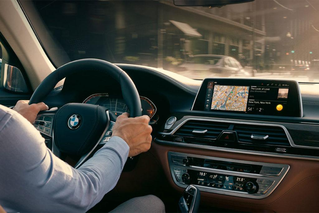 Equipamiento y conectividad del nuevo BMW Serie 7