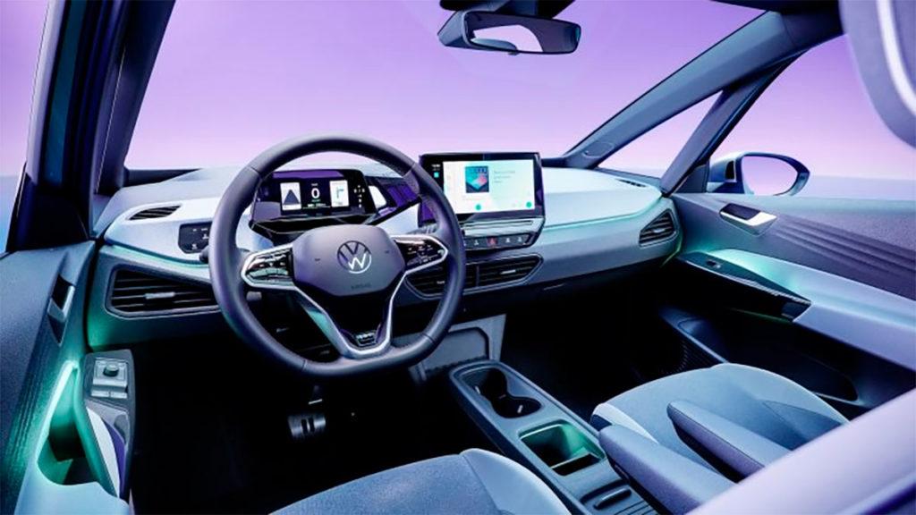 Interior del Volkswagen ID.4 2020