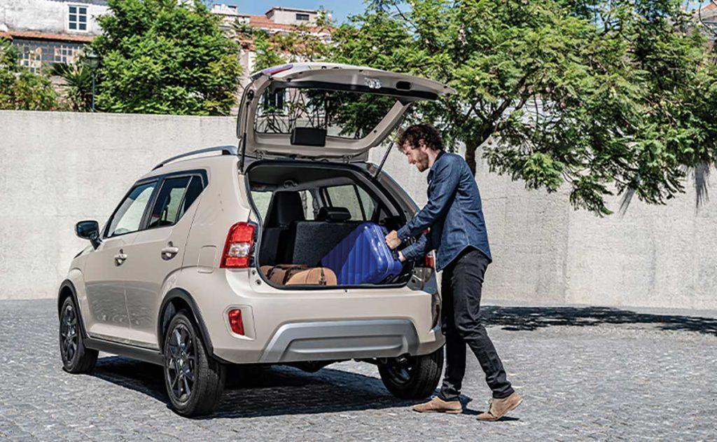 Maletero del nuevo Suzuki Ignis 2020