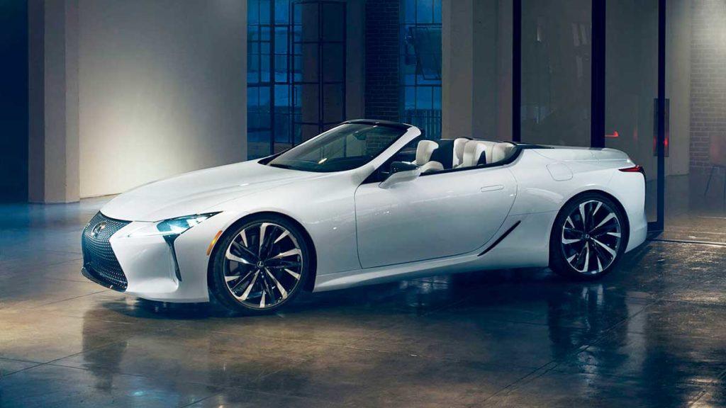 Nuevo Lexus LC 500 Cabrio 2020
