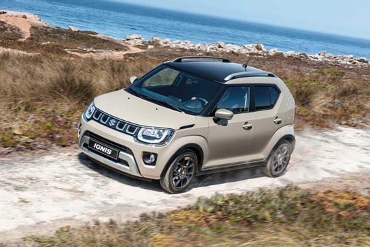 Nuevo Suzuki Ignis 2020 de renting