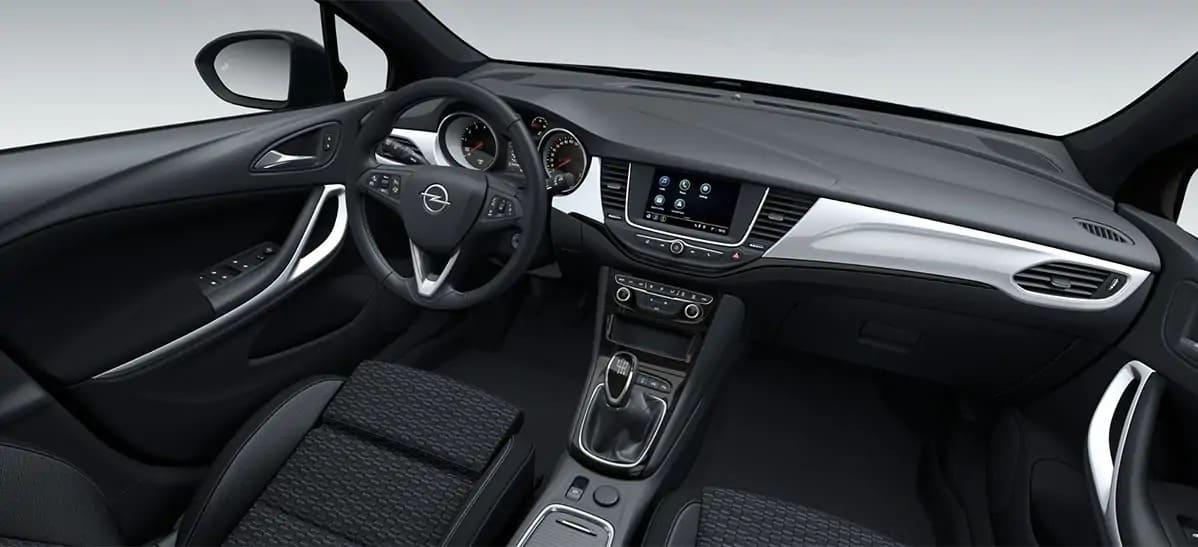 Renting Opel Astra Interior