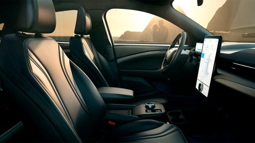 Diseño interior del nuevo Ford Mustang Mach-E