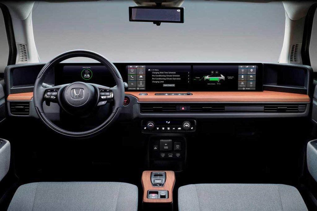 Diseño interior del nuevo Honda e 2020