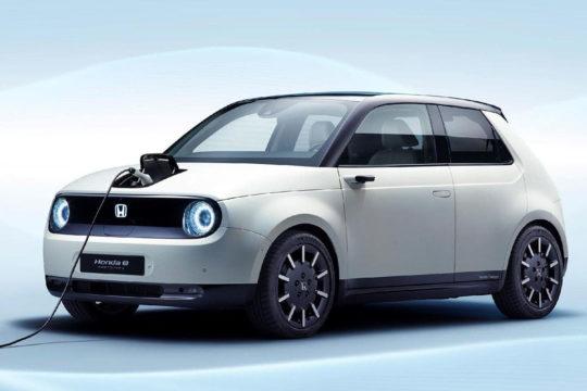 Nuevo Honda e 2020 con motor 100% eléctrico