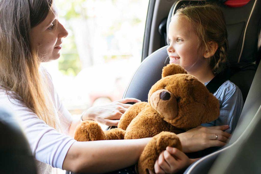 Tecnología a favor de la seguridad de los niños en el coche