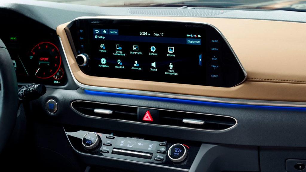 Hyundai Sonata 2020, lo último en conectividad