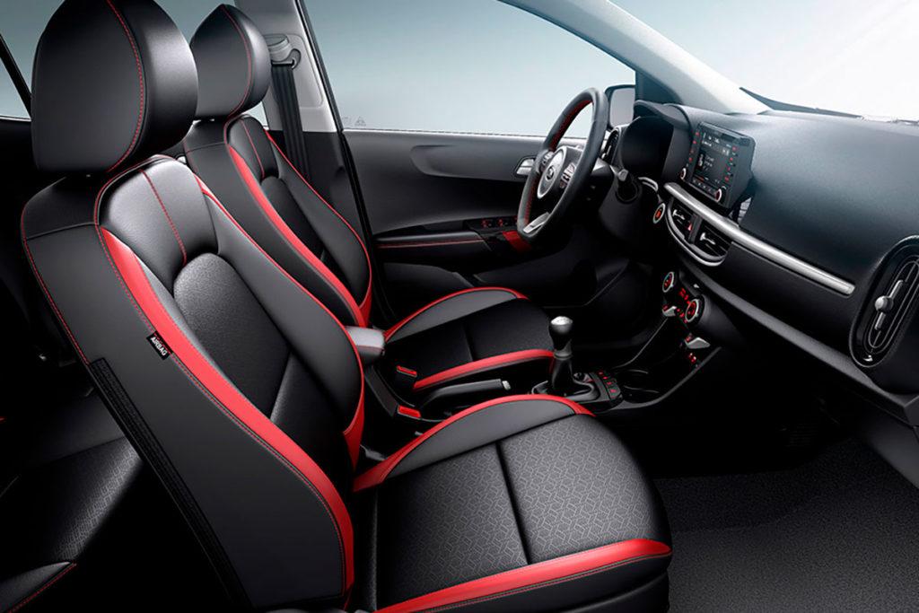 Diseño interior y equipamiento del Kia Picanto 2021