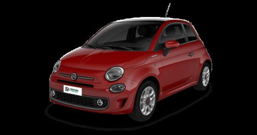 Renting Fiat 500 Sport