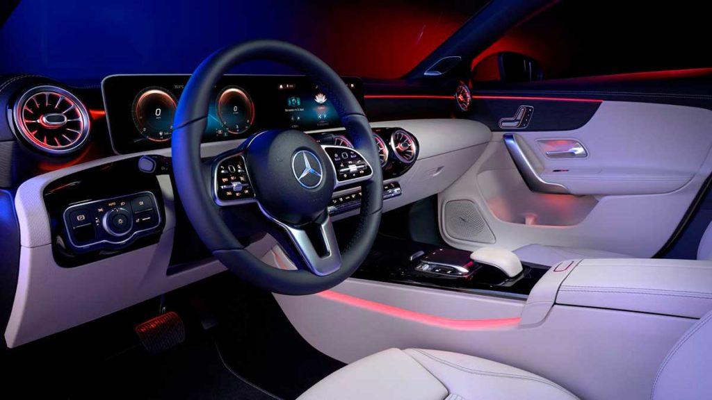 Máxima conectividad con el Mercedes-Benz CLA 2020