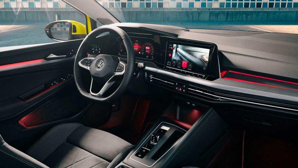 Última tecnología del Volkswagen Golf 8 2020