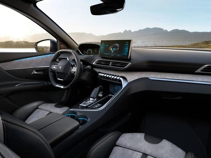 Interior SUV Peugeot 3008