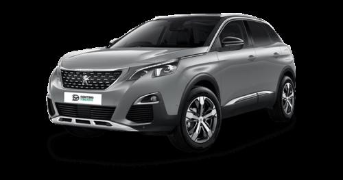 Renting Peugeot 3008 gris