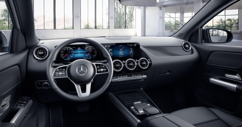 Interior del Mercedes GLA Eléctrico