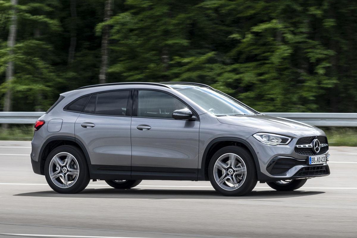 Renting de coches Mercedes GLA ELéctrico