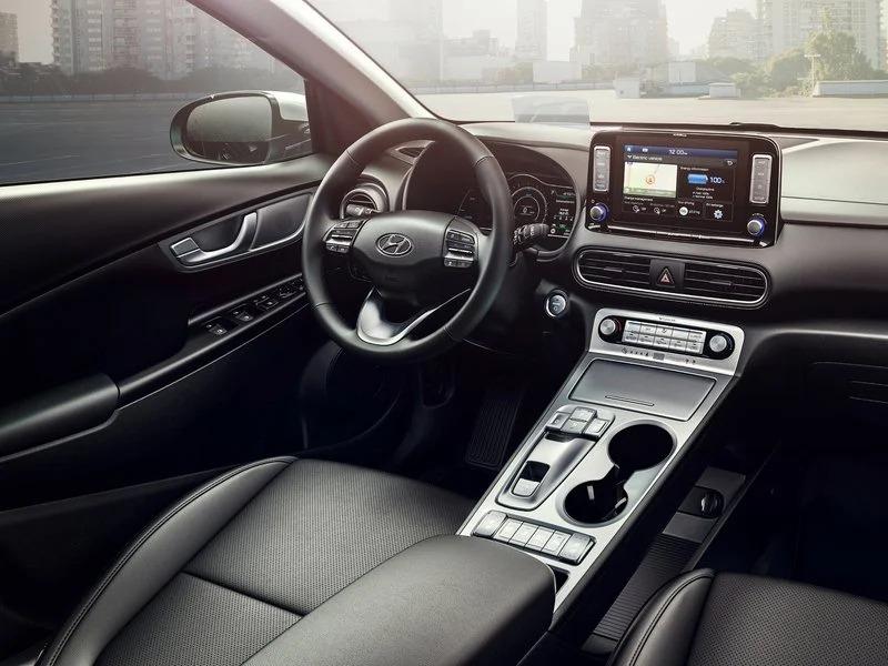 Interior del Hyundai Kona