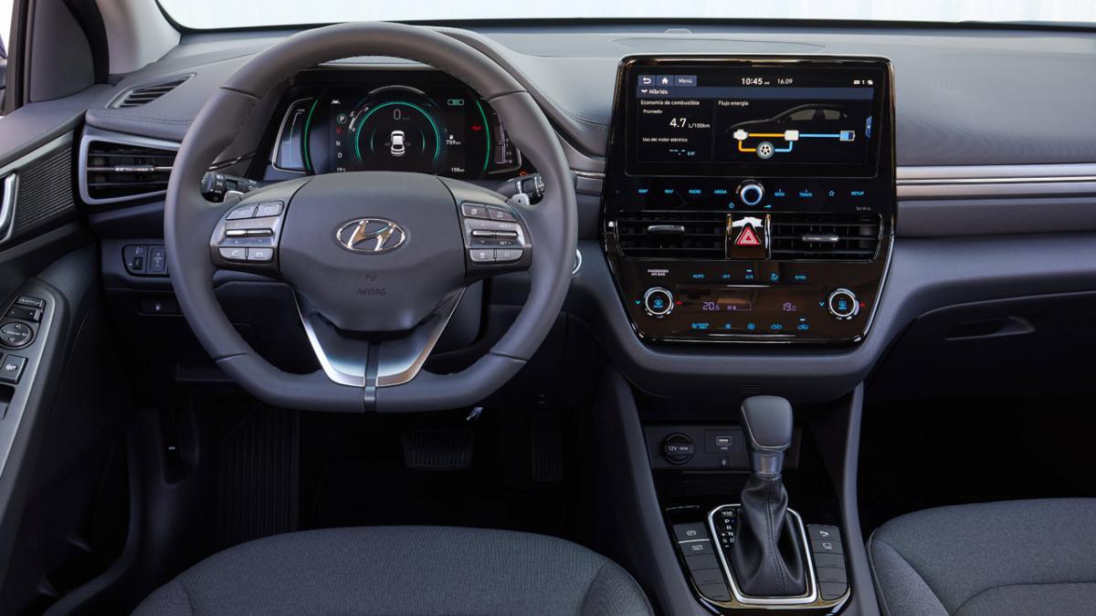 Renting Hyundai Ioniq Interior