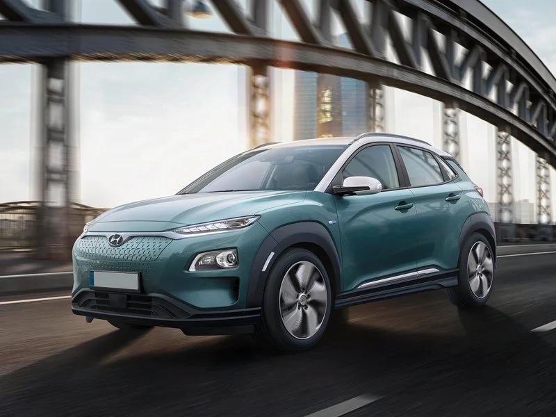 Ofertas de renting Hyundai Kona Eléctrico EV 204cv Klass azul cerámico