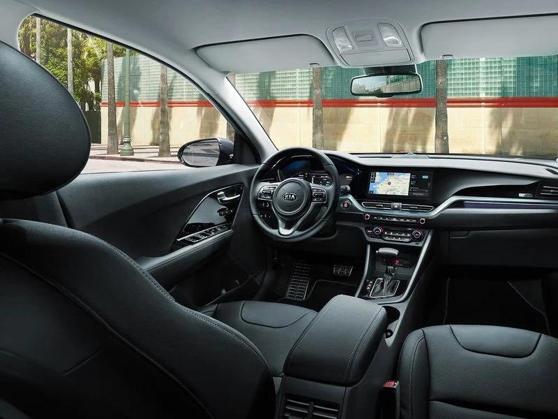 Interior del Kia Niro PHVE 141 CV Drive