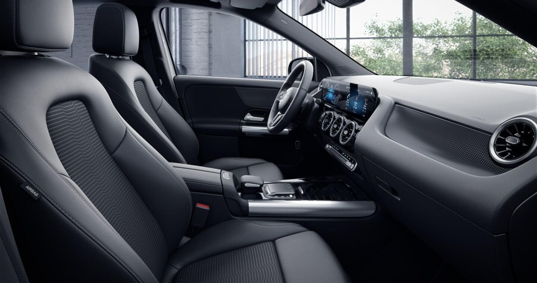 Interior y asientos del Mercedes GLA 200D