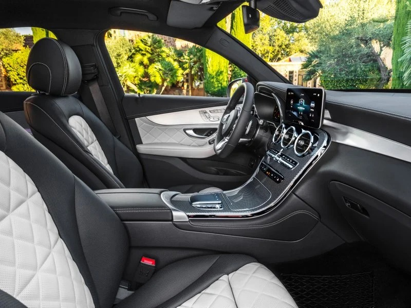 Interior del Mercedes GLC 300 DE 4Matic