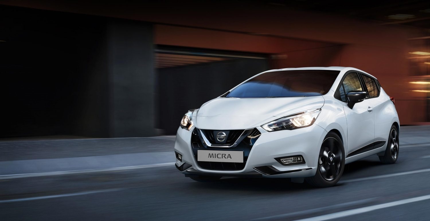 Renting Coches Nissan Micra Acenta blanco