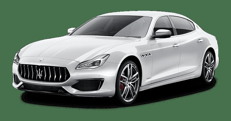 Renting Maserati Quattroporte blanco
