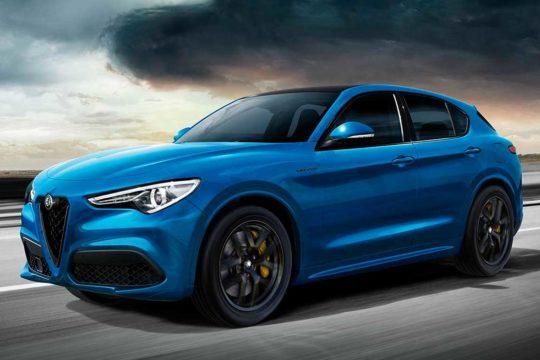 Alfa Romeo Stelvio 2021 Azul