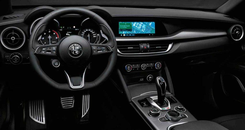 Interior del Alfa Romeo Stelvio 2021