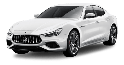 Renting Maserati Ghibli blanco