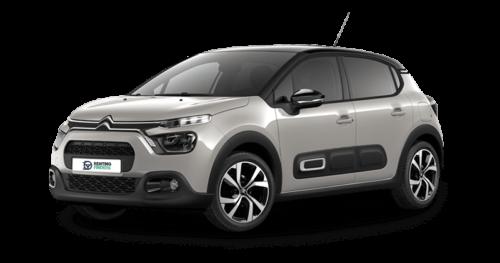 Renting Citroën C3 Puretech 83 Feel Pack gris