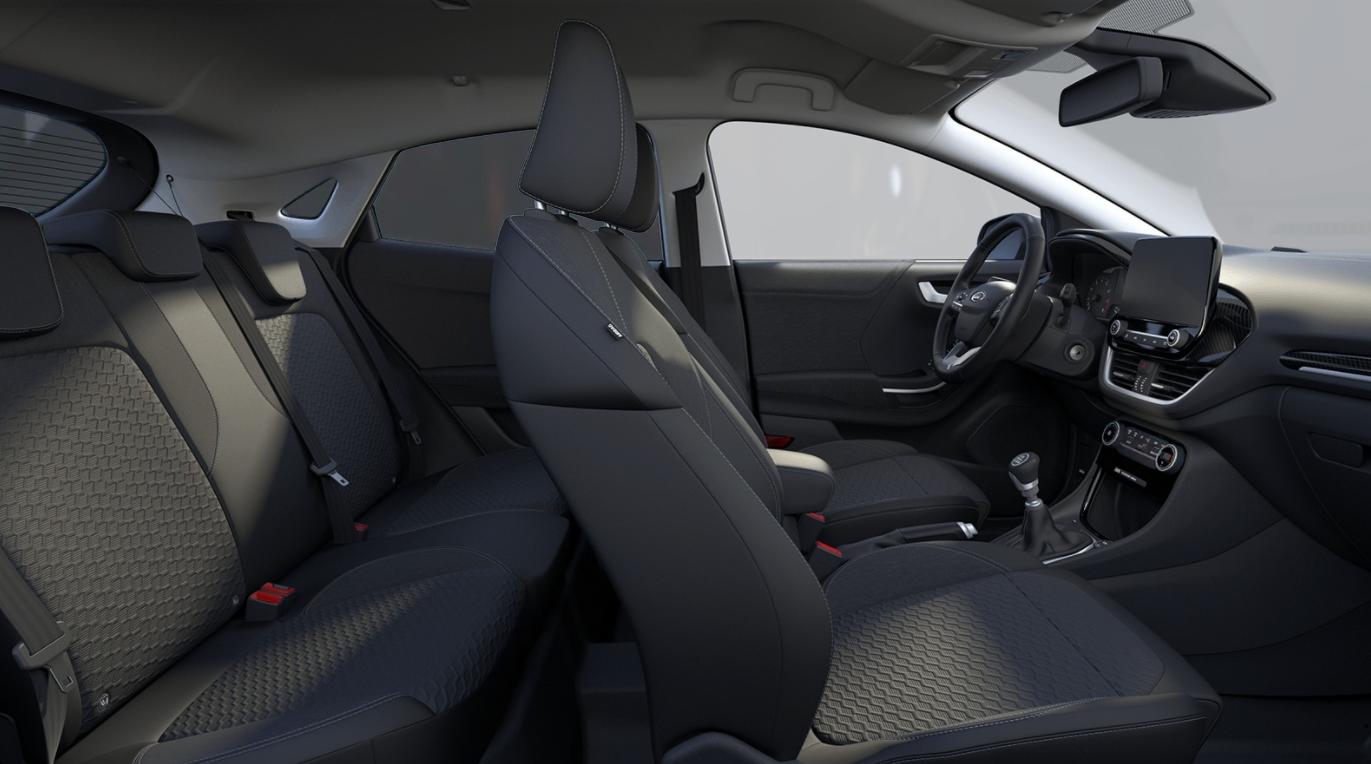 Renting Ford Puma Interior