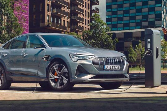 Audi e-tron Sportback 2020 exterior