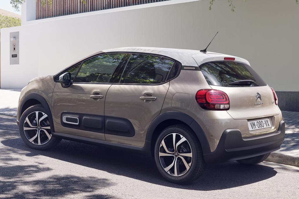 Ofertas de renting Citroën C3 beige arena