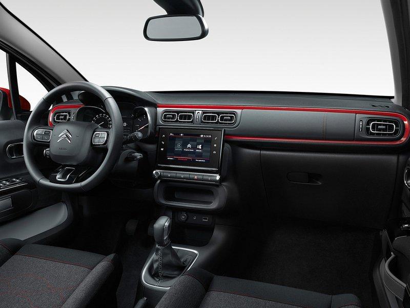 Interior del nuevo Citroën C3