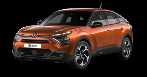 Renting Citroën e-C4 Eléctrico Feel Pack caramel brown