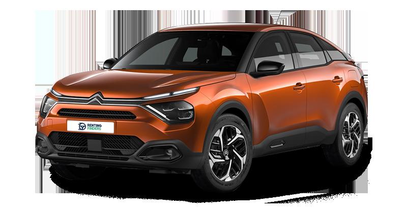 Renting Citroën e-C4