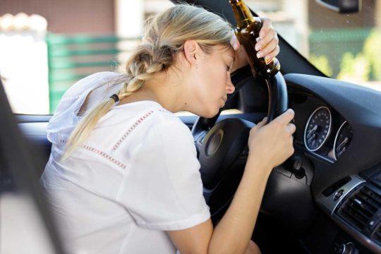 Efectos negativos del consumo de alcohol en la conducción