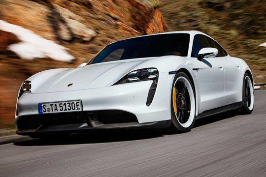 Los mejores coches deportivos eléctricos del mercado Porsche Taycan