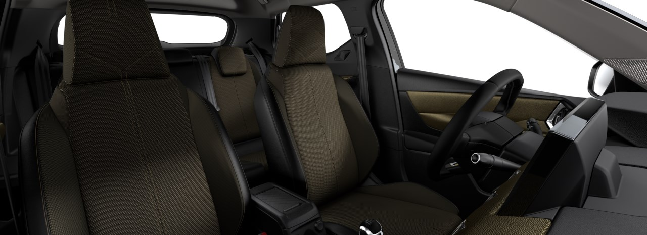 Renting DS 7 Crossback Interior