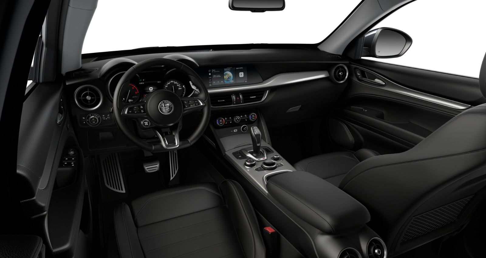Renting Alfa Romeo Stelvio Interior