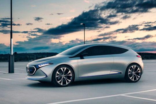 Coches eléctricos del 2021 Mercedes EQA
