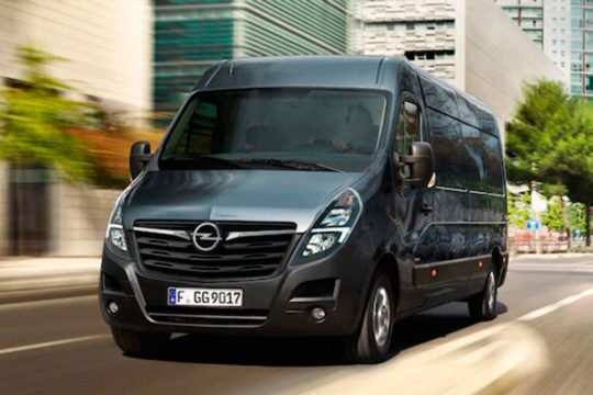 Renting Opel Movano 2021 exterior