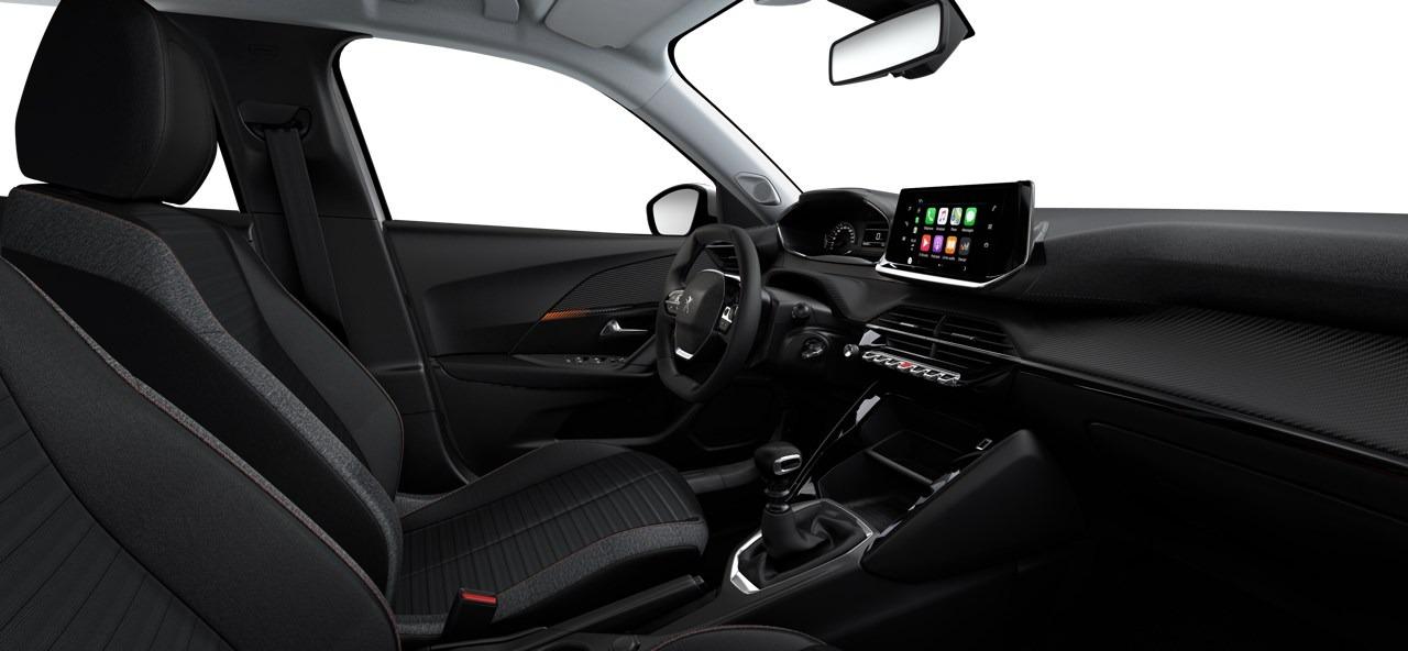 Interior del Peugeot 2008 Active Pack
