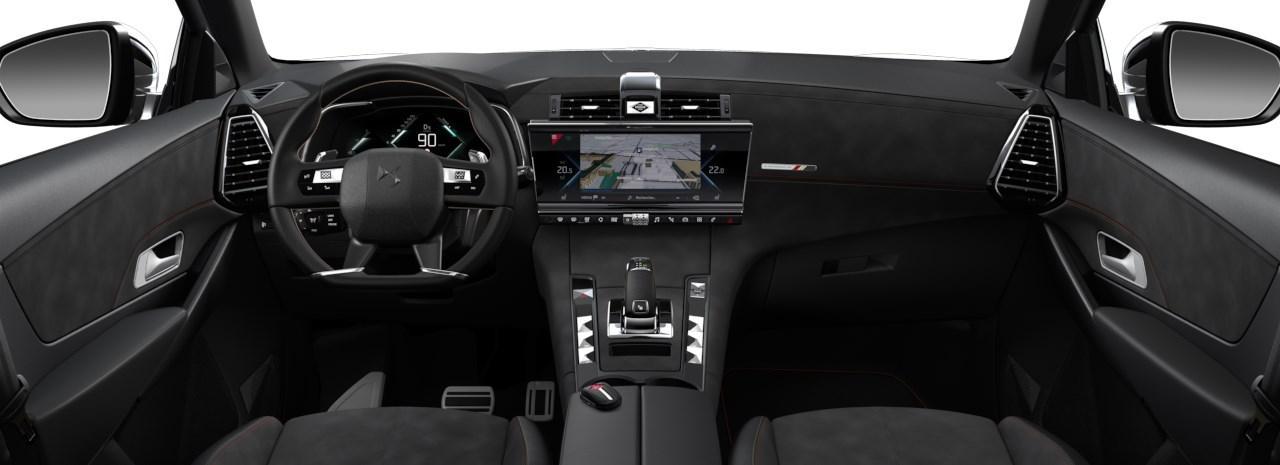 Renting DS 7 E-Tense Interior