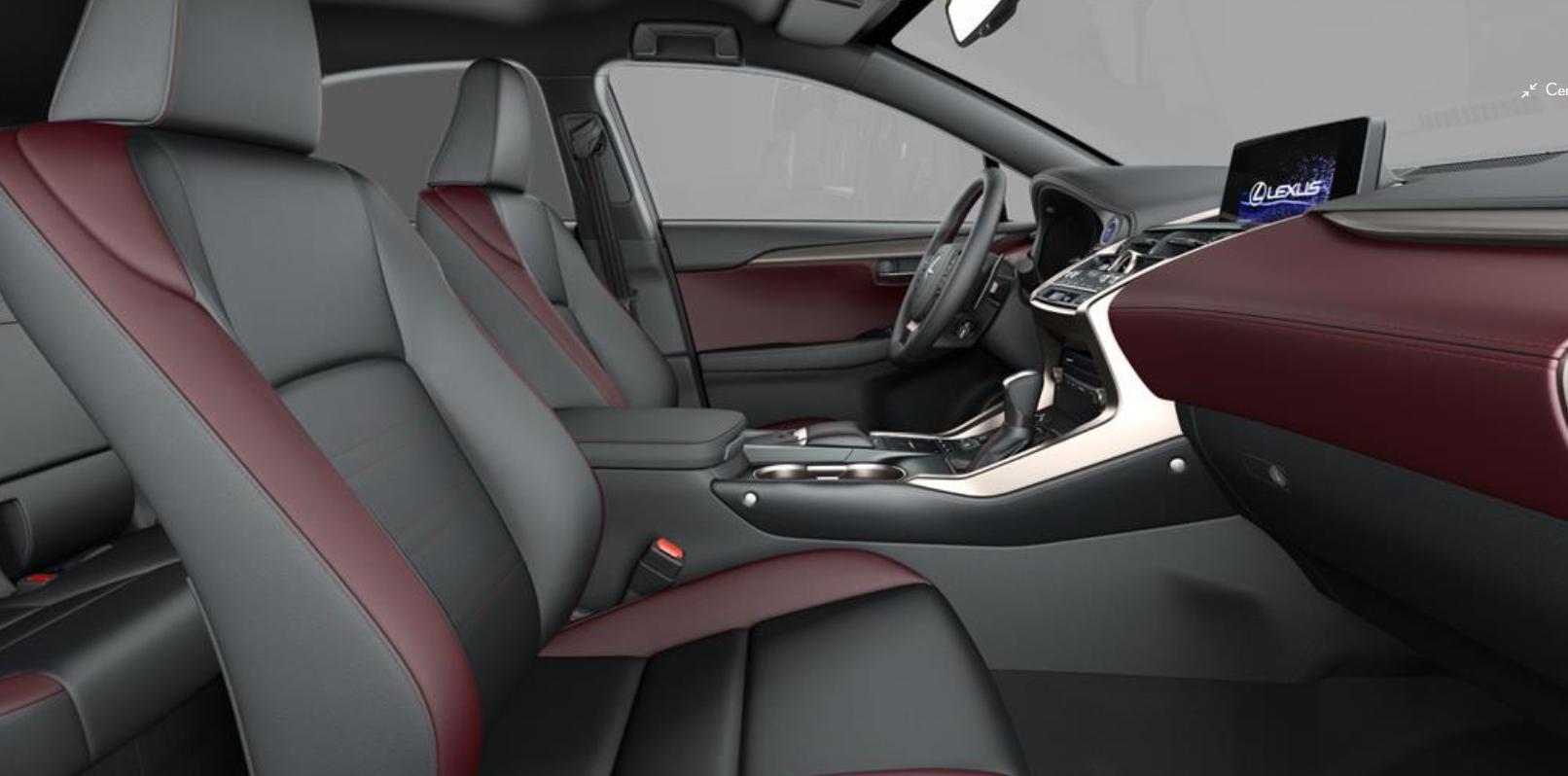 Renting Lexus NX Asientos interiores