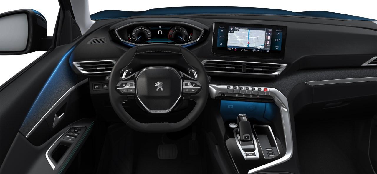 Renting Peugeot 3008 Interior