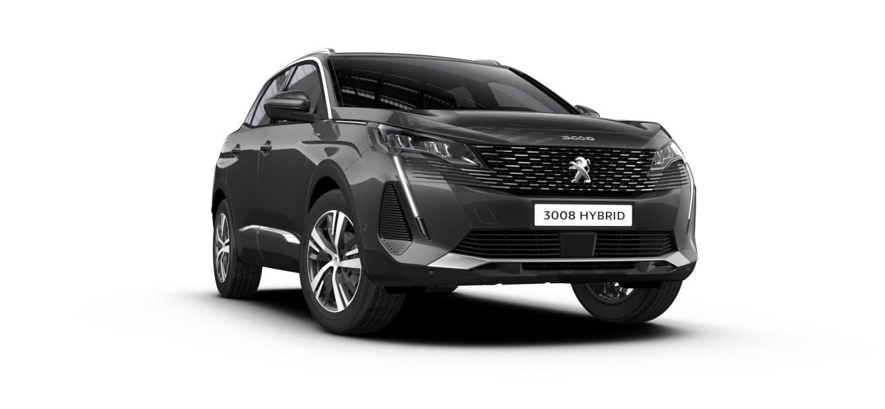 Renting Peugeot 3008 Hybrid